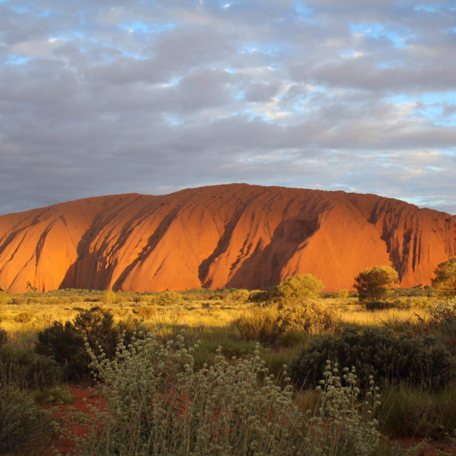 Ayers Rock:  The good, the bad, and the ugly.