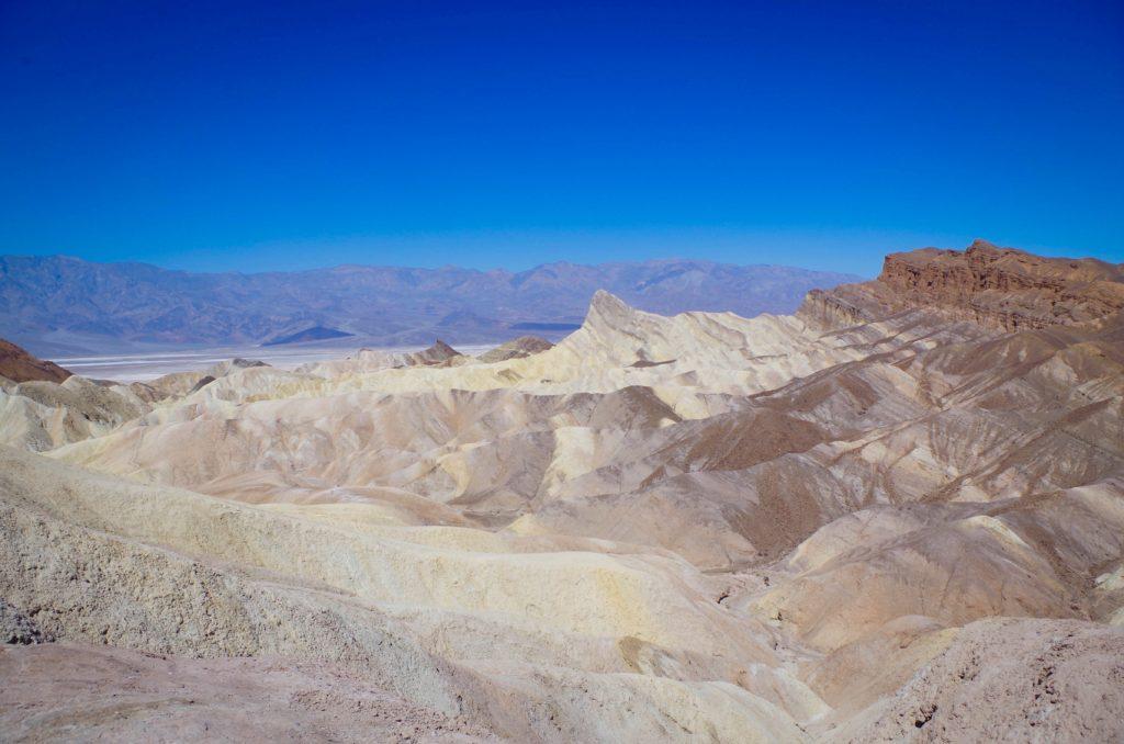 Death Valley's Badlands, viewed from Zabrinske Point