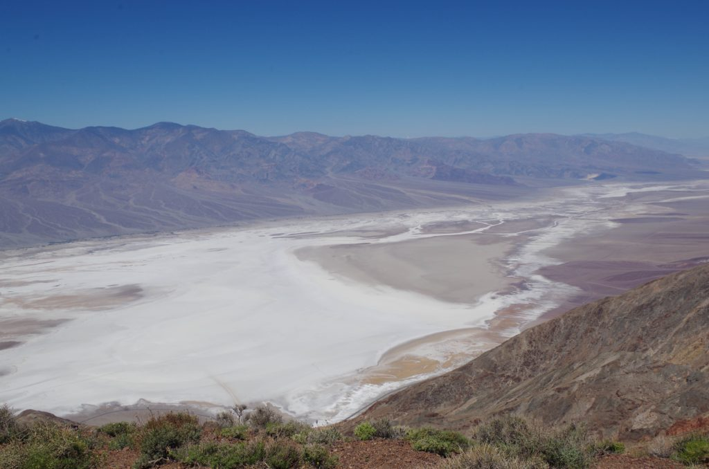Overlooking Death Valley from Dante's View
